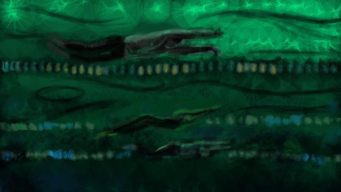 Ilustrace / plavci